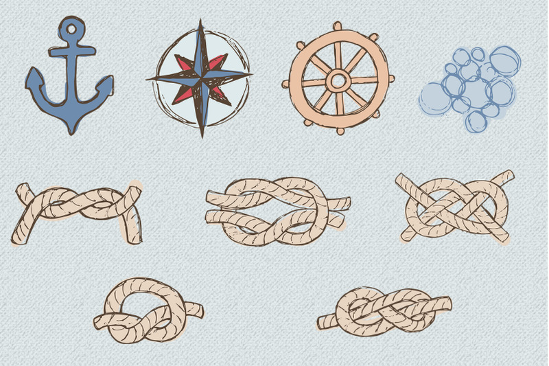 rustic-nautical-illustration-and-patterns