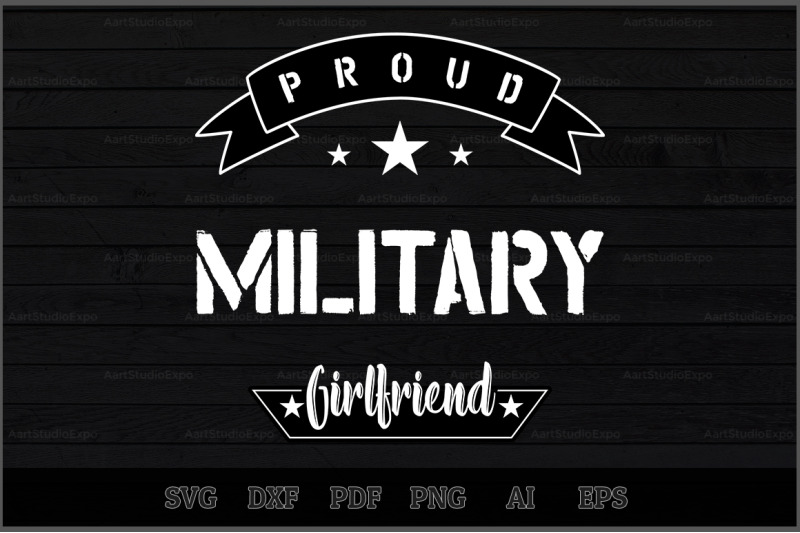 proud-military-girlfriend-svg-design