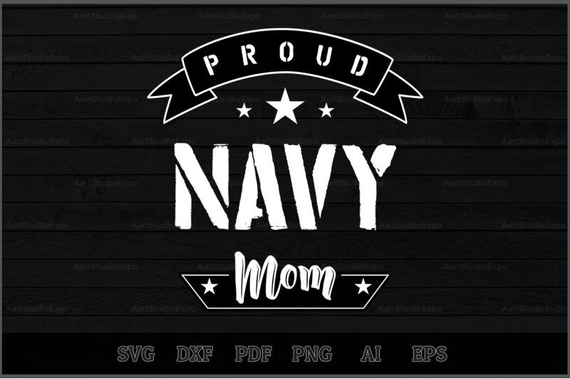 proud-navy-mom-svg-design