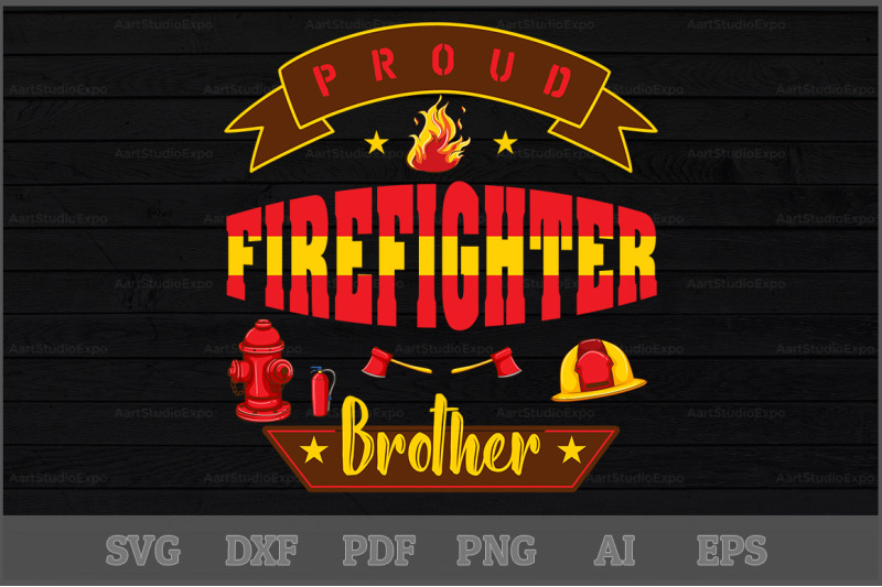 proud-firefighter-brother-svg-design