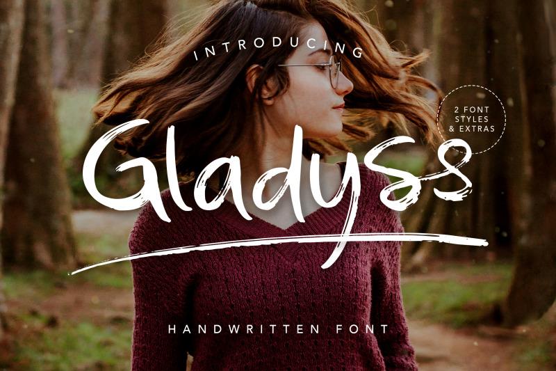 gladyss-handwritten-font