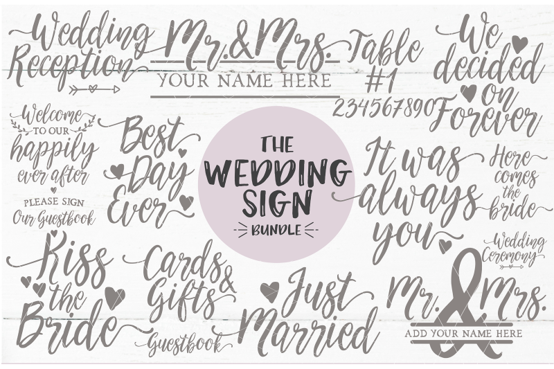 wedding-sign-quote-bundle-svg-dxf-png