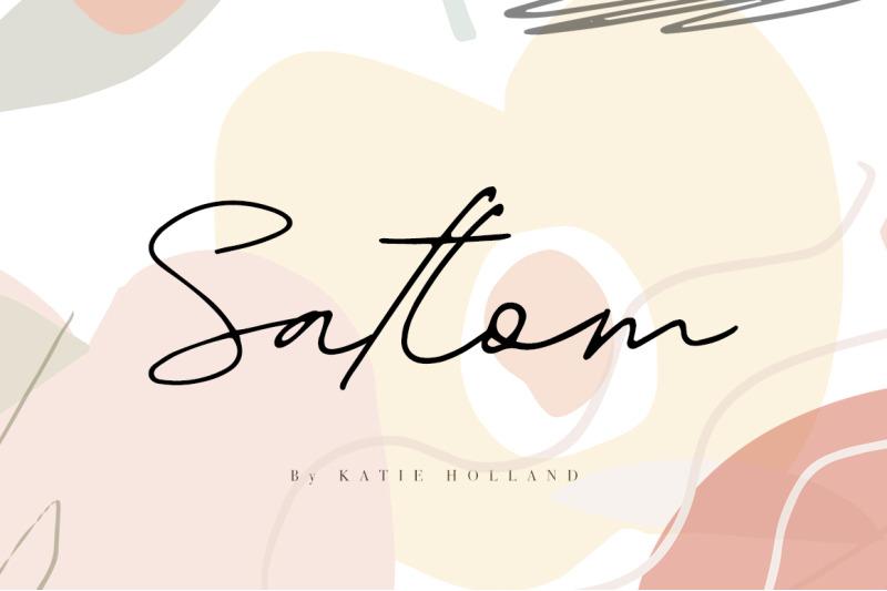 satlom