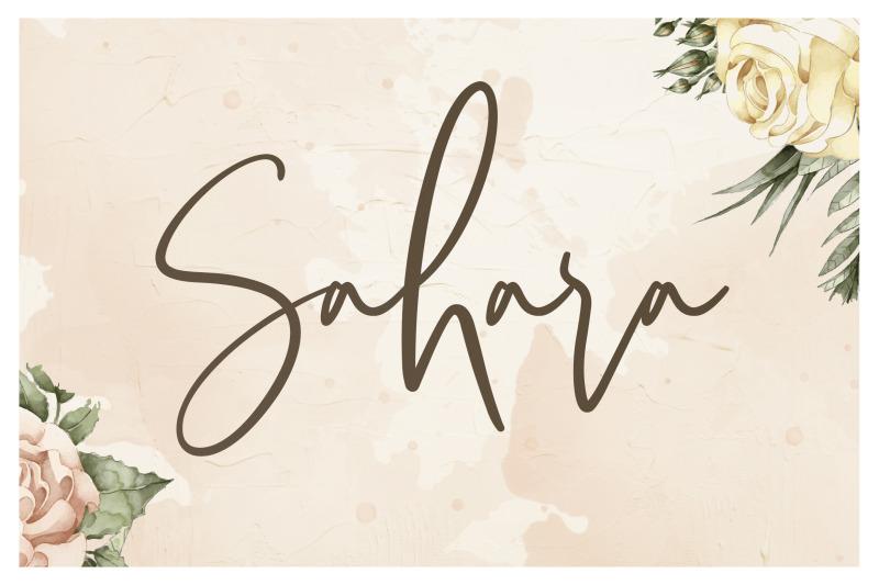 sarvati-script-font