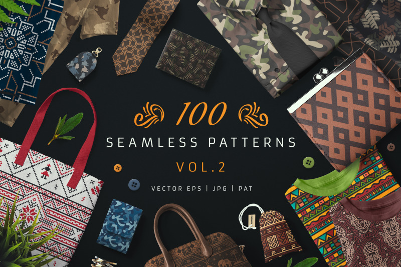 100-seamless-patterns-vol-2
