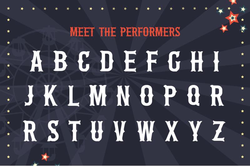 the-circus-font