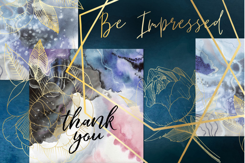 vector-crystals-watercolor-clipart-gemstone-hand-painted-wedding-in