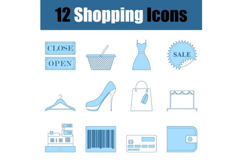 shopping-icon-set