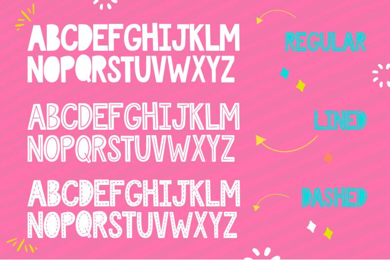 love-sucks-font-trio