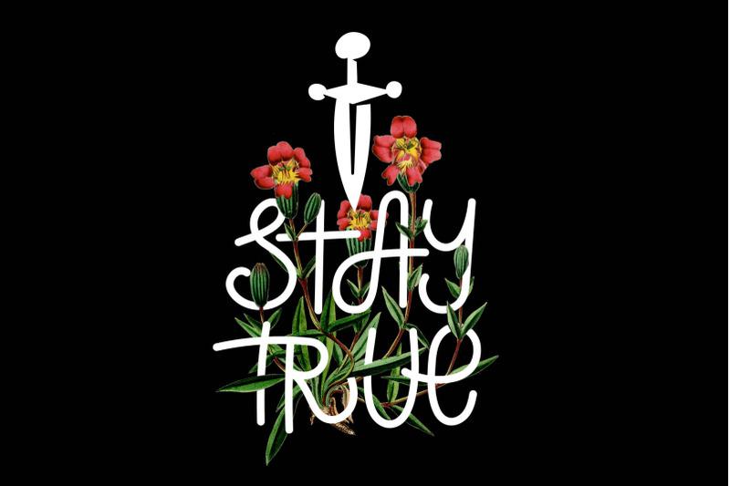 stay-true-font