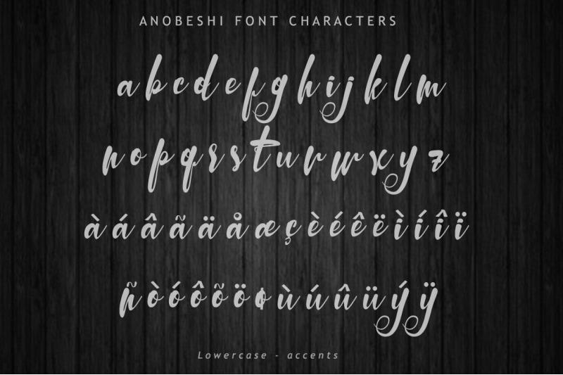 anobeshi-font