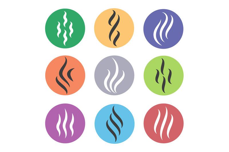 heat-steam-icons