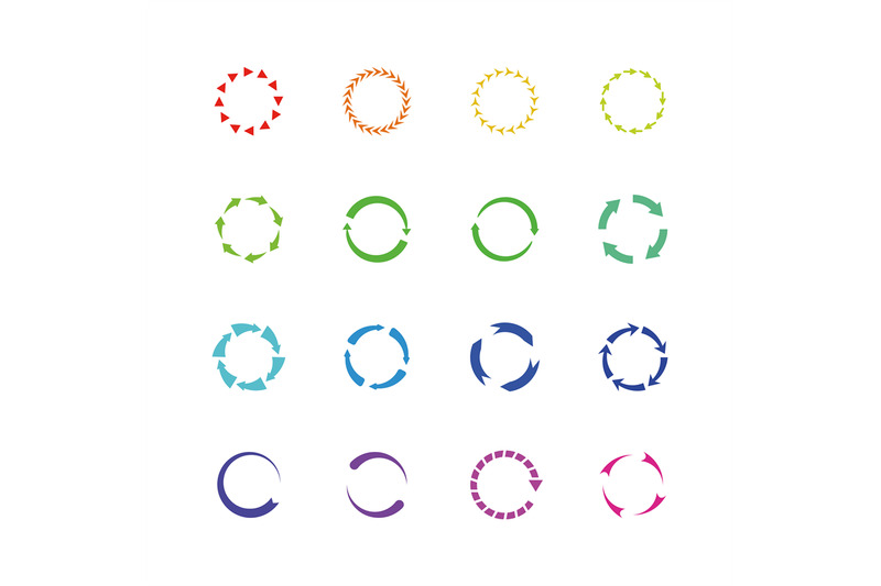 color-circle-reload-arrows-vector-icons-round-arrow-elements
