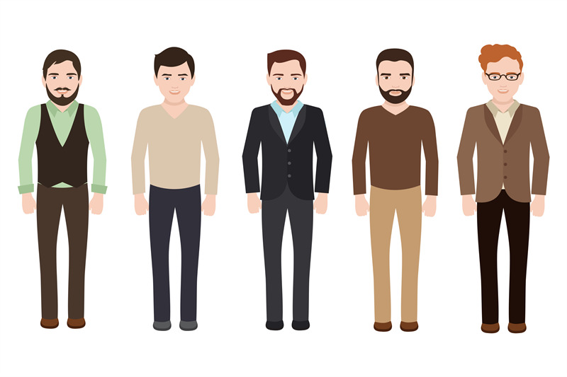 adult-man-dressed-in-business-and-casual-clothes-vector-male-characte