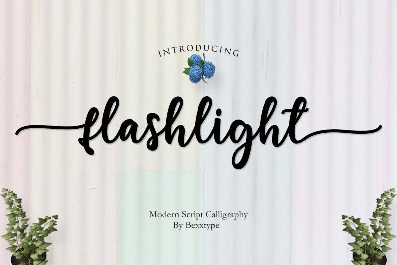 new-flashlight-script-calligraphy