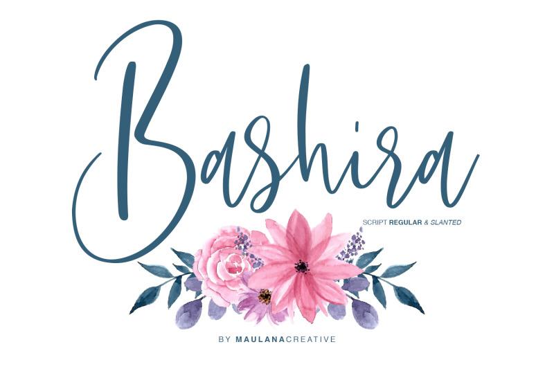 bashira-brush-script