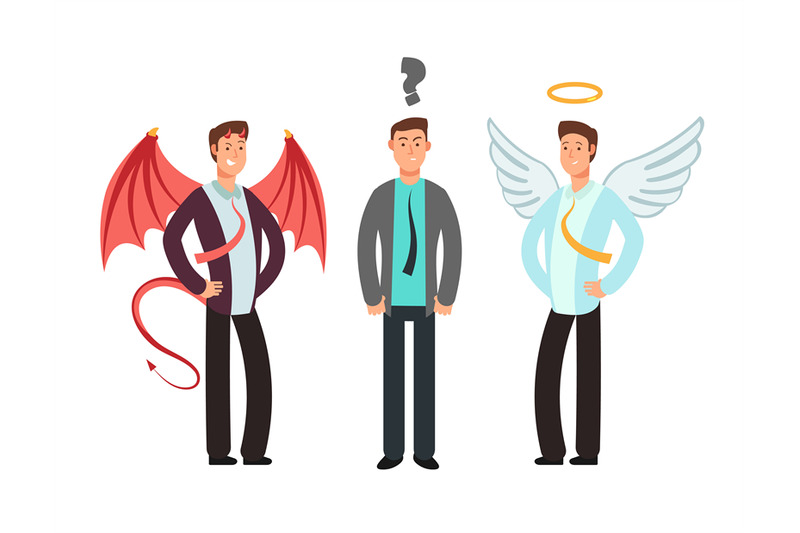 confused-businessman-with-angel-and-devil-over-shoulders-choose-vecto