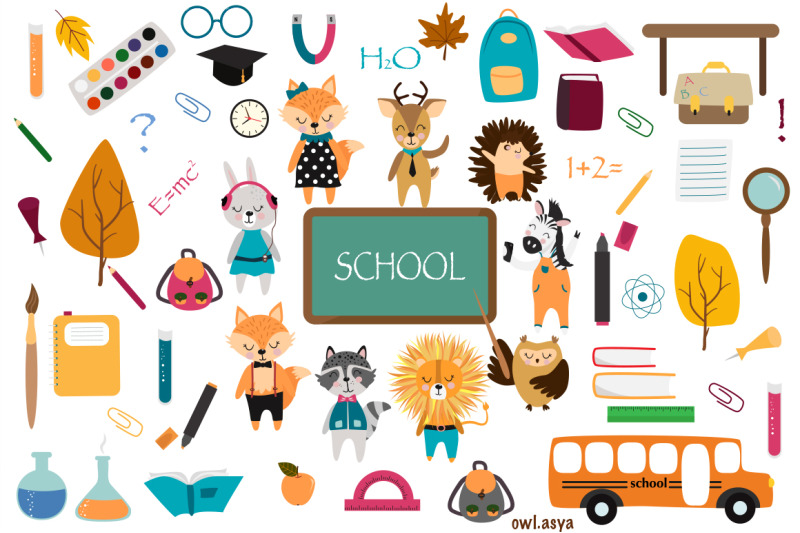 animals-at-school