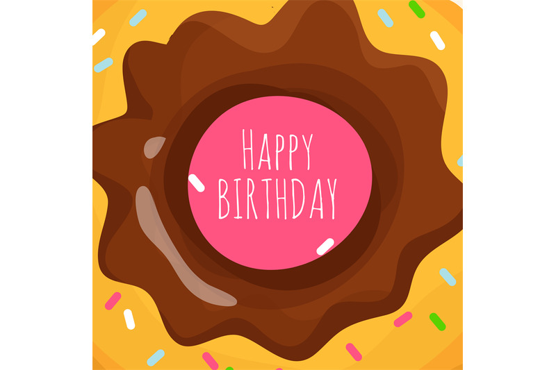 happy-birthday-background-with-sweet-cartoon-donut
