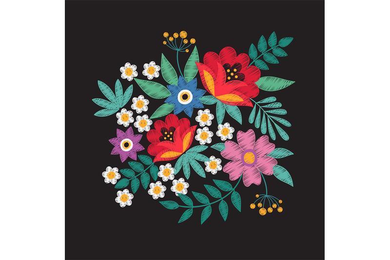 bouquet-of-garden-flowers-floral-embroidery-designs-fashion-vector-de