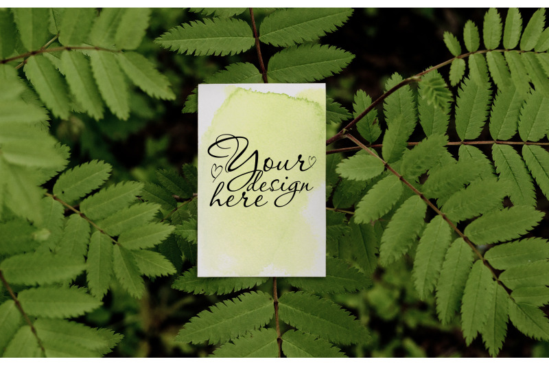 summer-bussines-card-mockup-on-tree