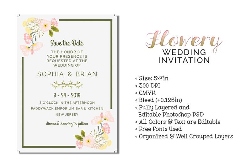 flowery-wedding-invitation