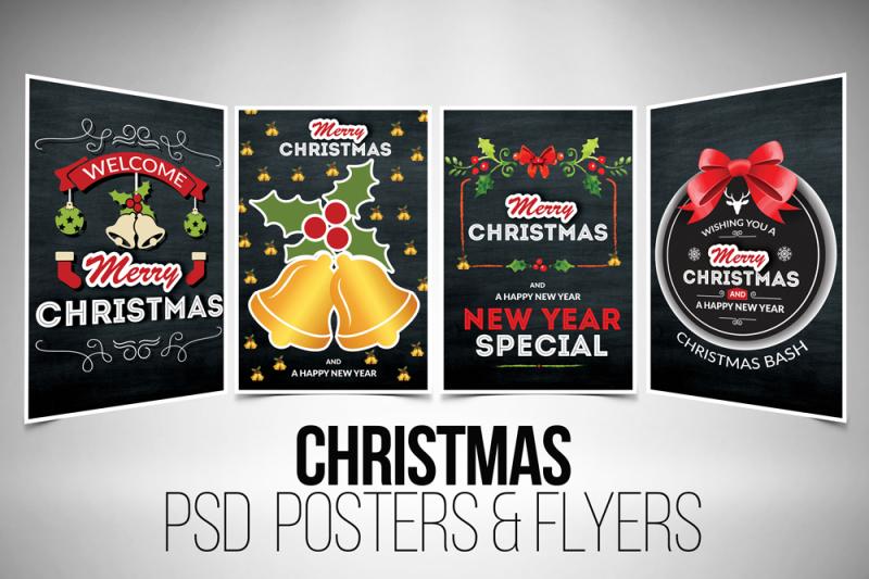 4-christmas-event-chalkboard-flyer-bundle
