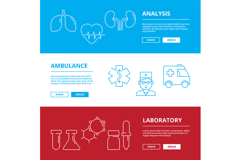 medical-web-banners-healthcare-illustrations-doctor-hospital-medicame