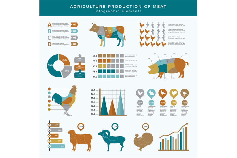 agriculture-farming-infographic-food-animals-farm-technology-nutritio