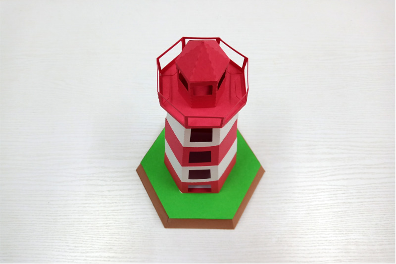 diy-lighthouse-model-3d-papercraft