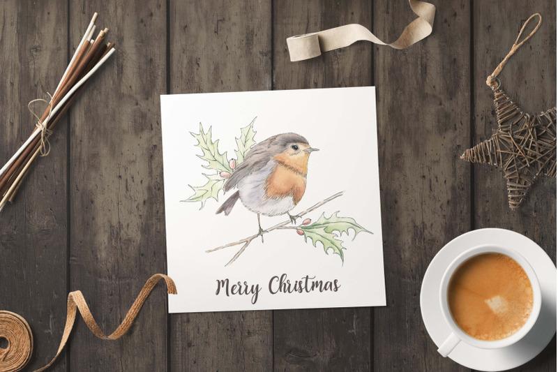 christmas-woodland-watercolor-set