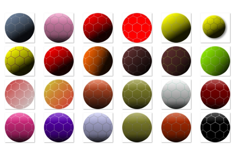 colorful-football-balls