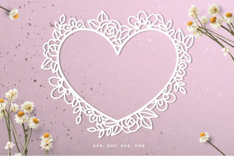 floral-valentine-039-s-day-heart-frame-cut-file
