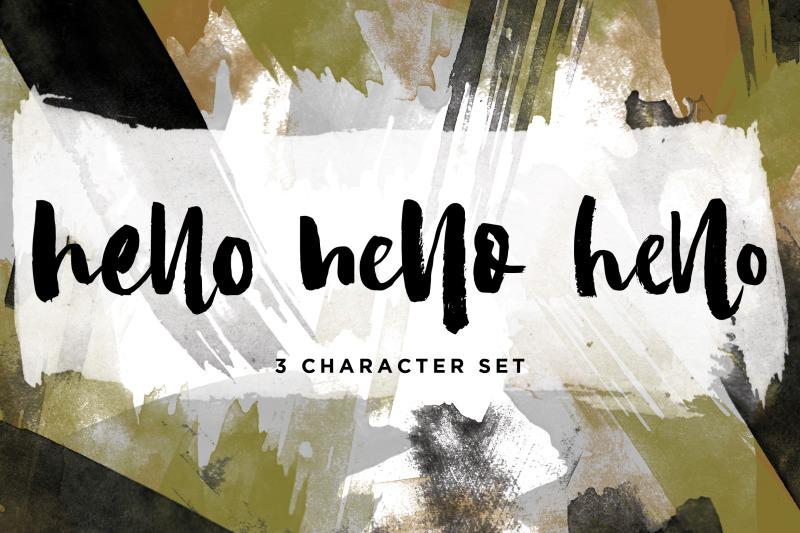 camilla-textured-brush-font-3-font