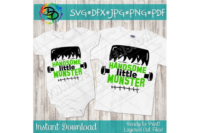 handsome-little-monster-svg-frankenstein-svg-halloween-svg-baby-hal