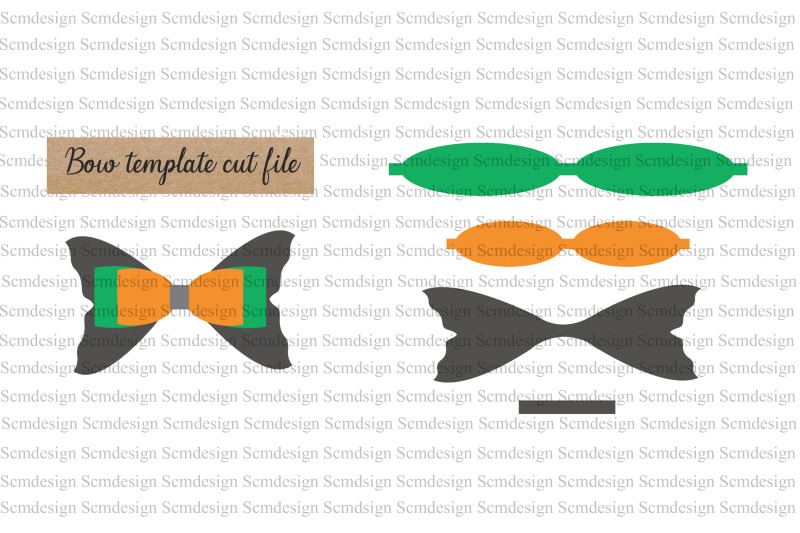 bow-template-svg-cut-file-bow-design-bow-silhouette-cut