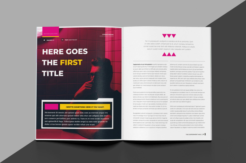 experiment-indesign-magazine-brochure-template