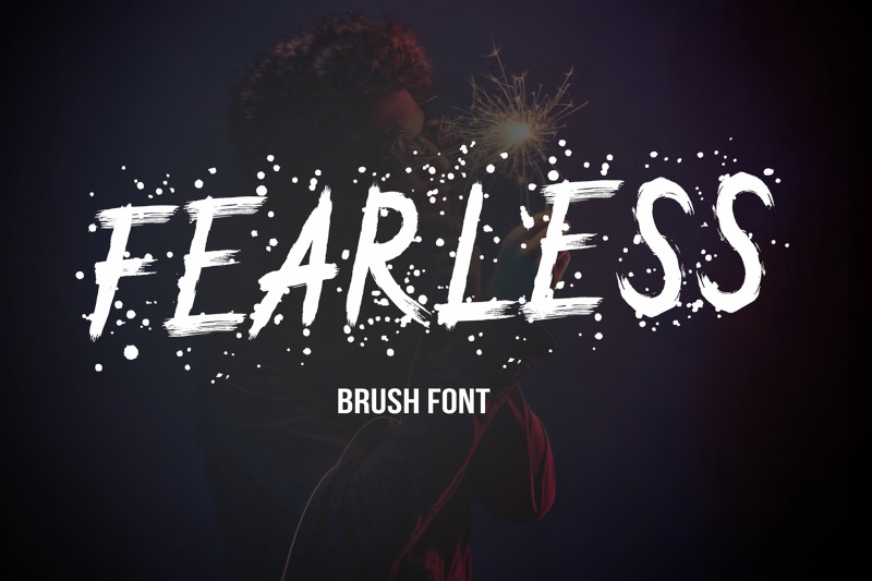 fearless-brush-font