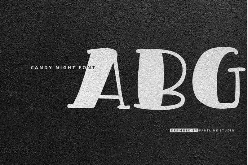candy-night-font