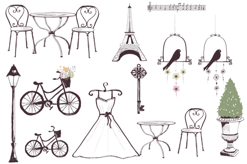 romantic-vintage-sketches
