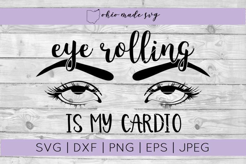 eye-rolling-is-my-cardio-svg