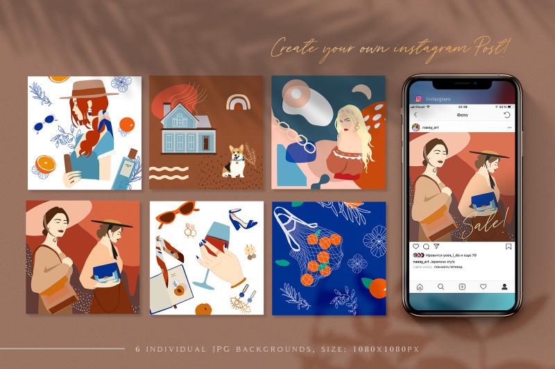 josephine-collage-set