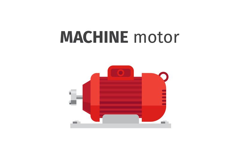 machine-motor-flat-element