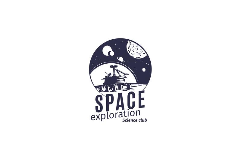 science-club-logo-in-retro-style