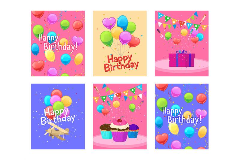 happy-birthday-invitation-cards-set