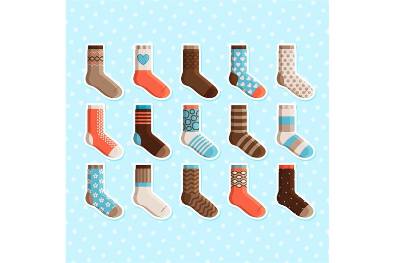 colorful-cartoon-cute-kids-socks-stickers