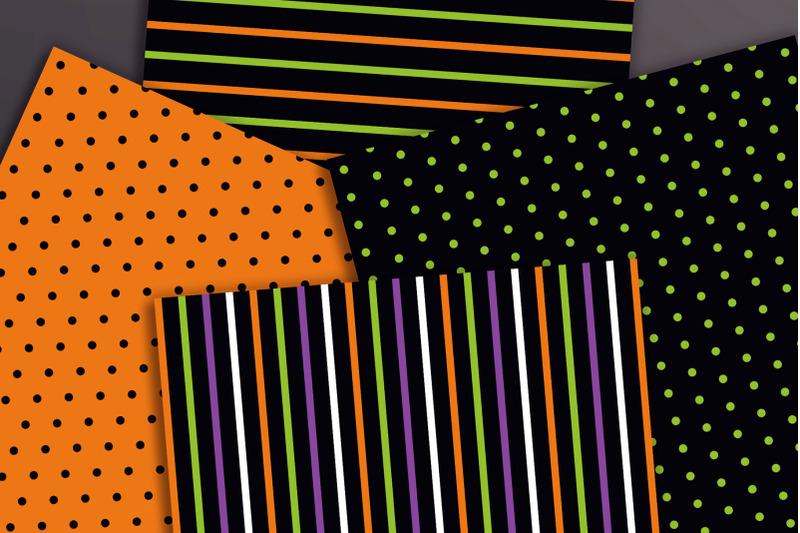 halloween-digital-papers-3-halloween-patterns-fall-digital-paper-set
