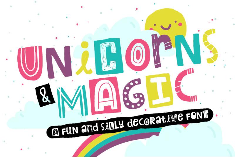 unicorns-amp-amp-magic-font