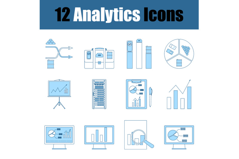 analytics-icon-set