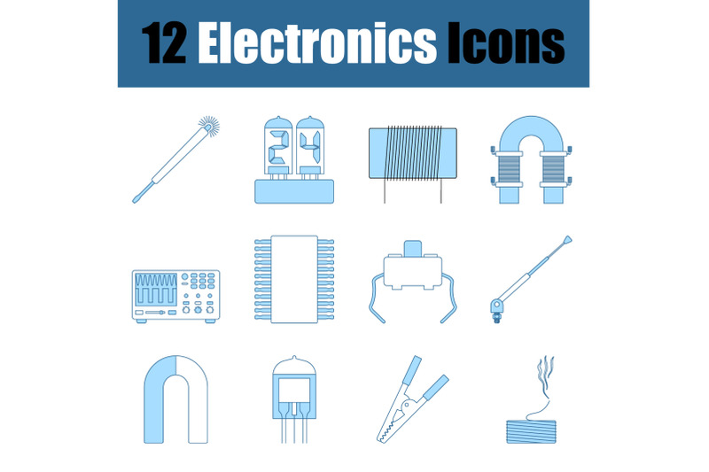 electronics-icon-set